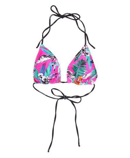 Superdry Electro Tropic Bikini Top