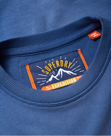 Superdry Upstate Wash Crew Neck Sweatshirt