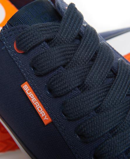 PRO - Sneaker low - dark navy/hazard orange mqQvvCts