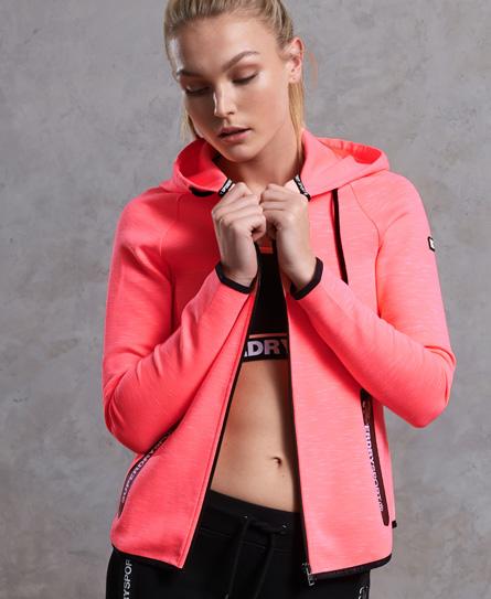 Superdry Superdry Gym Tech Luxe hættetrøje med lynlås