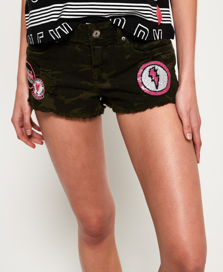 Superdry Hot Jeansshorts