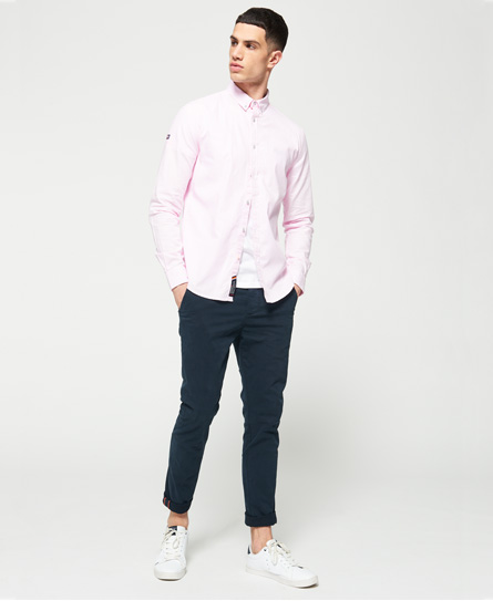 Superdry Premium Button Down Long Sleeve Shirt