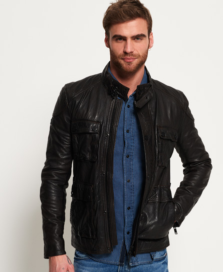 Leather Rotor Jacket