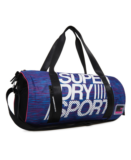Superdry Cylinderformet sportstaske
