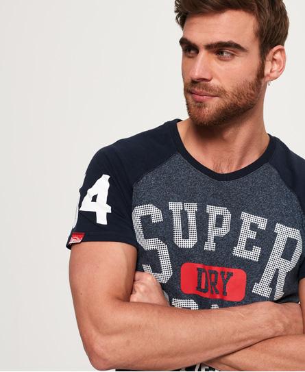 Superdry Trackster Baseball T-Shirt