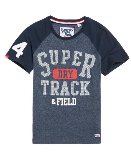 Superdry Superdry Trackster baseball T-shirt