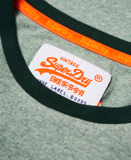 Superdry Orange Label Cali Ringer T-Shirt