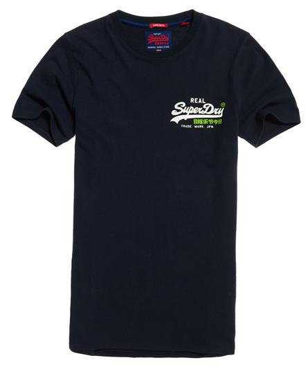 Vintage Logo Long Line T-shirt