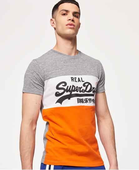 Superdry Vintage Logo Panel T-shirt