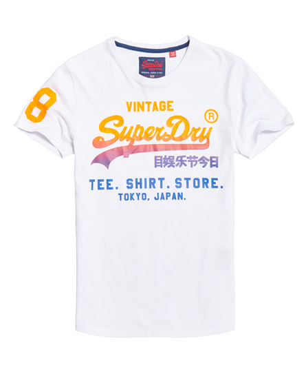 Superdry Shirt Shop Fade T-shirt