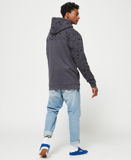 Superdry City Number Cross Over Hoodie