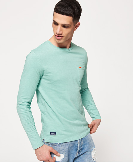 Superdry Dry Originals Long Sleeve Pocket T-Shirt