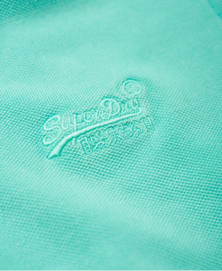 Superdry Vintage Destroyed Pique Polo Shirt
