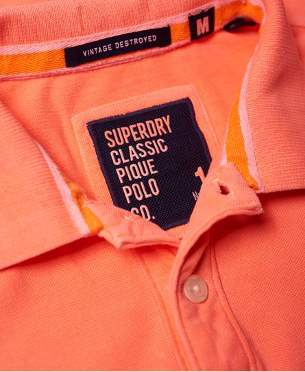 Superdry Vintage Destroyed piké-poloskjorte