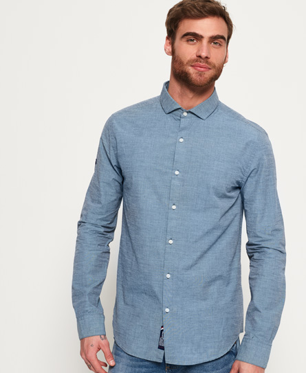 Superdry Cut Away Collar Shirt