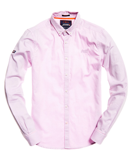 Superdry - Camisa de manga larga con cuello abotonado Premium - 2