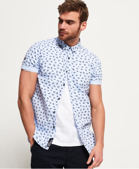 Superdry Superdry Shoreditch skjorte med button down-flip