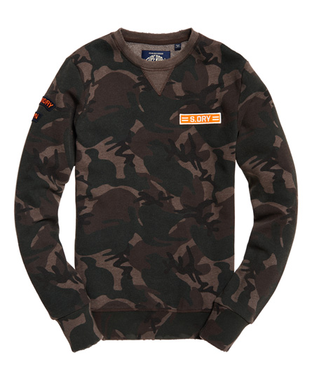 Superdry World Tour Crew Sweatshirt