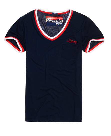 Superdry Retro T-shirt met V-hals