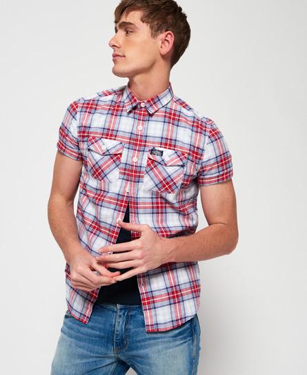 Superdry Superdry Kortærmet Washbasket skjorte