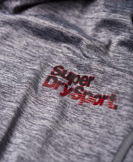Superdry Athletic Kapuzenjacke mit Raglanärmeln und Reißverschluss