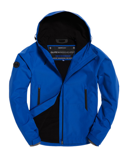 Superdry Superdry Elite SD-Windcheater jakke med hætte