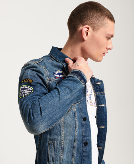 Superdry SD Rogue Patch Trucker Jacket