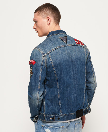 Superdry SD Rogue Patch Trucker jas