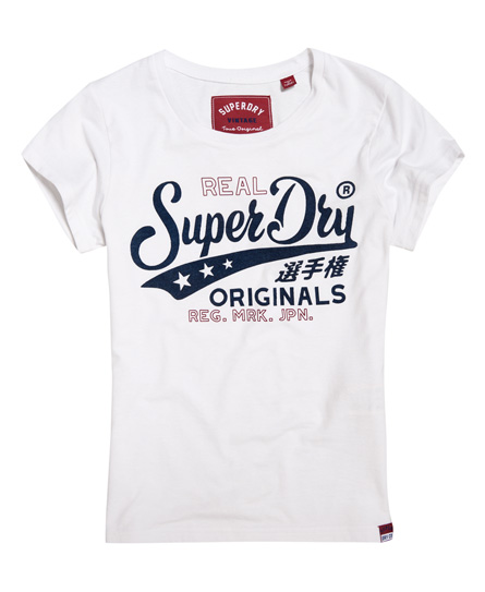 T-shirt Bianco donna T-shirt Bonded Denim moda abbigliamento - immagine 0