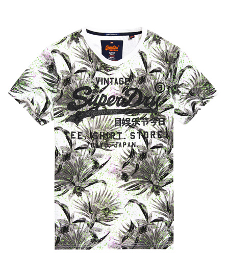 Superdry Superdry Shirt Shop All Over Print T-shirt