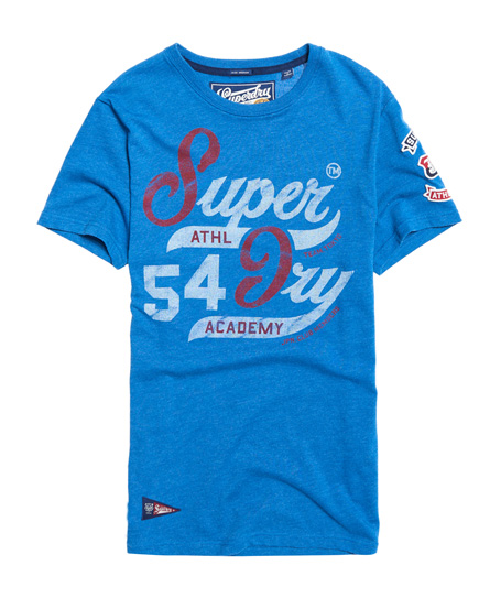 Academy Raglan T-Shirt Superdry Red Pre Order Eastbay Free Shipping Fashion Style Outlet With Paypal Great Deals Cheap Price Purchase Cheap ihwwRWu2