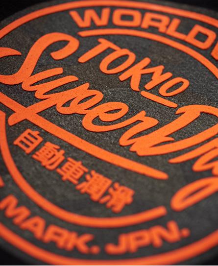 Superdry World Wide Ticket Type Zip Hoodie