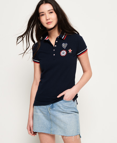 Superdry Superdry Pacific Badge poloshirt