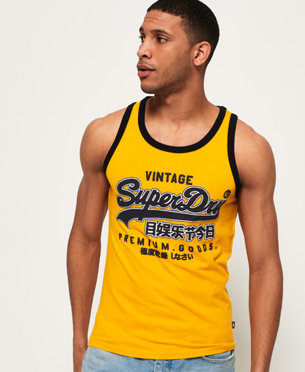 Motor City Vest Top Superdry Outlet Excellent Limited Edition Cheap Online The Cheapest Online tCR5eTCp