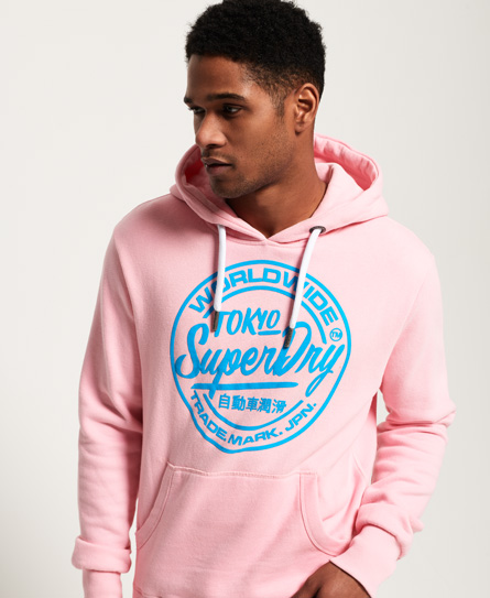 Superdry Sweat à capuche World Wide Ticket Type ZtJGt