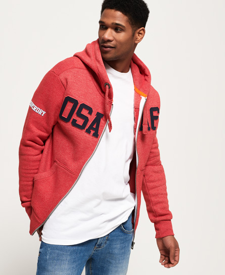 Superdry Sweat à capuche zippé estampé Osaka 6 Sp0GQ9pZq