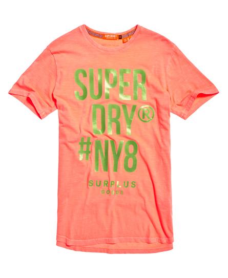 Superdry Langes Surplus Goods T-Shirt mit Grafik