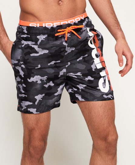 SD State Volley Swim Shorts
