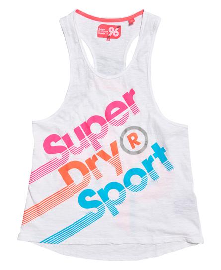 Superdry Hyper Sport Label ærmesløs top