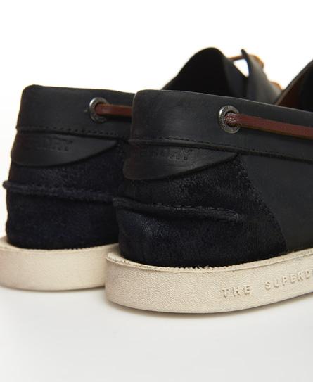 Chaussures bateau en cuirSuperdry 2TBscRdN