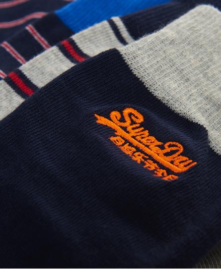 Superdry City 男襪三雙組