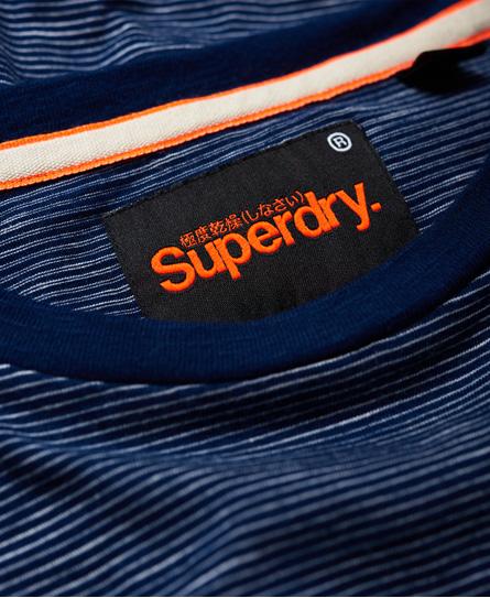 Superdry Lite Loom Clayton 條紋長袖 T 恤
