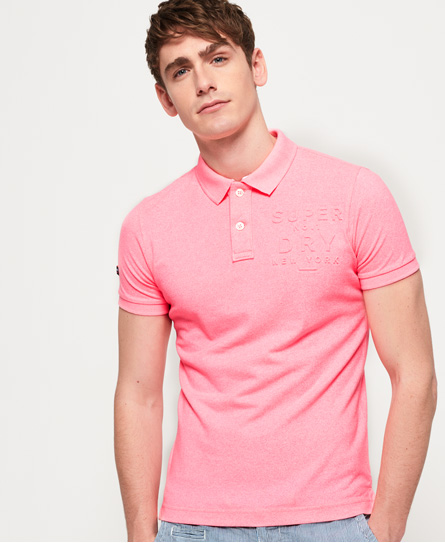 Superdry Classic Embossed Pique Polo Shirt