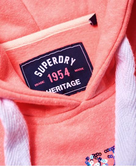 Superdry Stacker Sequin Hoodie