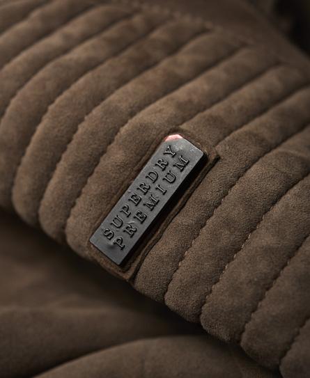 Superdry Premium Suede Racer Jacket