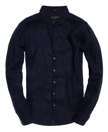 Superdry - Camisa de lino de manga larga Premium Wash - 2
