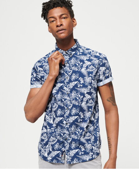 Superdry Superdry Shoreditch skjorte med button down-flip
