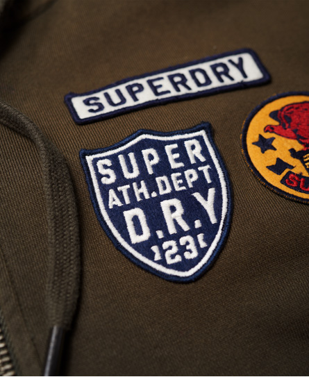 Superdry Upstate Washed Zip Hoodie