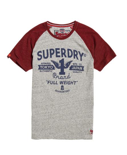 Superdry Superdry Full Weight Raglan T-shirt