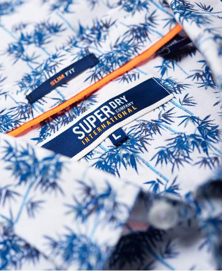 Superdry Poolside-skjorte med korte ermer